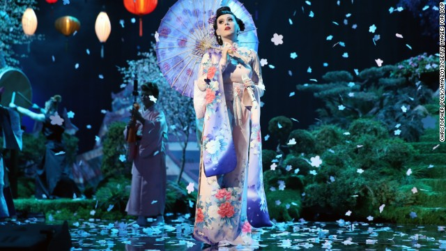 AMAs rewind: Katy Perry's questionable performance