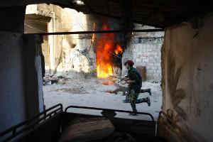 Recientes imágenes de la guerra en Siria