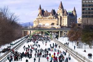 Pista de patinaje Rideau (Ottawa, Canadá)