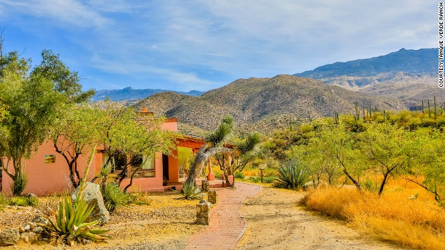 Arizona's Tanque Verde Ranch offers horseback riding and stargazing.