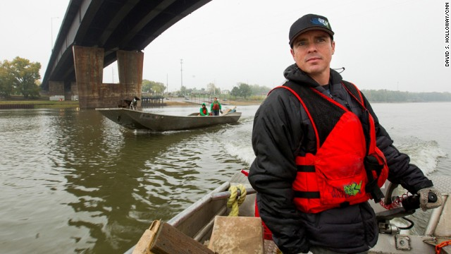 CNN Hero Chad Pregracke has made it his life's work to clean up the Mississippi River and other American waterways. Since 1998, about 70,000 volunteers have helped Pregracke <a href='http://www.cnn.com/2013/04/18/us/cnnheroes-pregracke-rivers-garbage/index.html'>remove more than 7 million pounds of garbage</a> from 23 rivers across the country.
