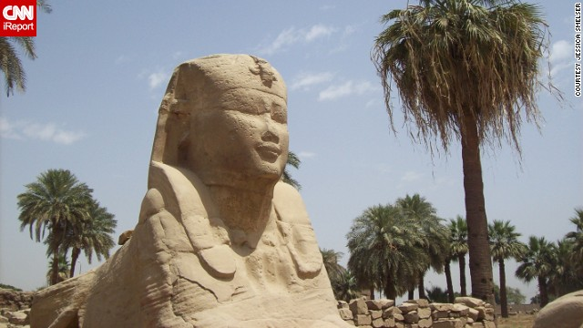 Majestic ancient ruins crowd Luxor, Egypt. See more photos on CNN iReport.