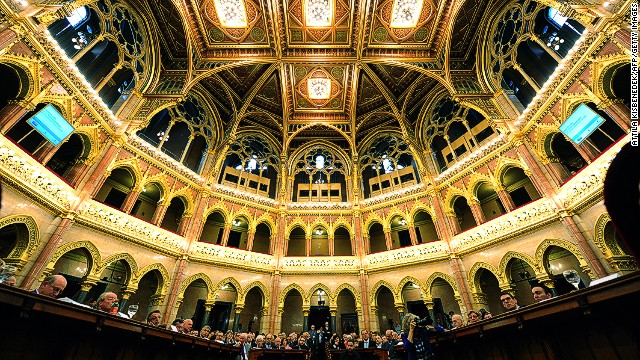 """One of the most beautiful legislatures in the world, a cathedral of democracy."" You don't often hear that about a parliament building, but that's how British politician-turned-broadcaster Michael Portillo described Budapest's Parliament."