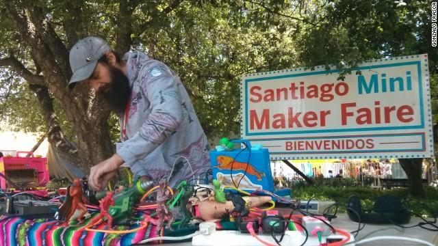 Santiago Mini Maker Faire, el evento en que construyes tu propia tecnología