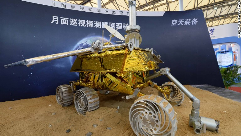 China Launches Probe and Rover to Moon  China Plus