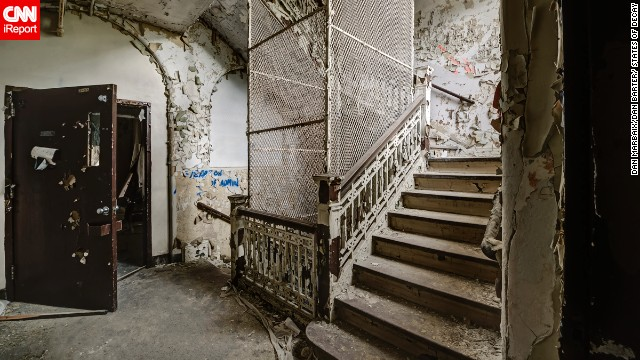 "The photographers declined to provide a specific location for most of the sites they visited, including this asylum in upstate New York, citing ""exploring ethics."""