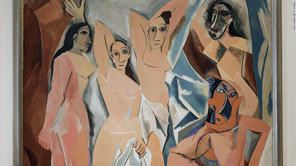 Las señoritas de Avignon (1907), Pablo Picasso