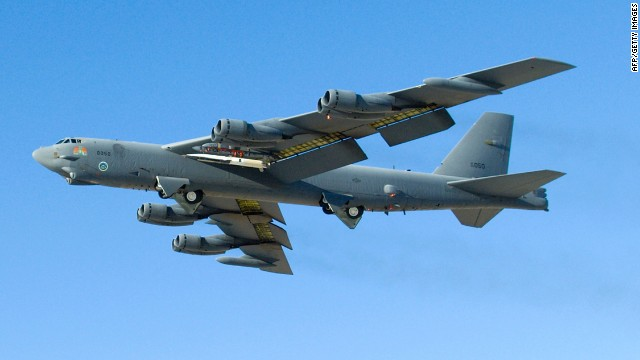 Official: U.S. B-52s flew over China's newly declared air zone