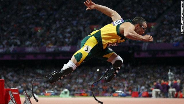 According to Sithole's coach, South Africa is a country that especially backs athletes with physical impairments. Double amputee Oscar Pistorius made history by competing at the London 2012 Summer Olympics.