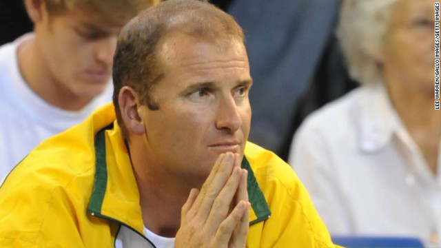 """South Africa's Davis Cup captain, John-Laffnie de Jager, has watched Sithole in action and says, """"I'm not surprised he won a grand slam. I felt he had the capability, mental strength and work ethic to do that."""""""