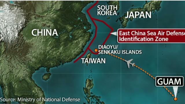 Why Chinas Air Zone Incensed Japan US CNNcom - Japan zone map