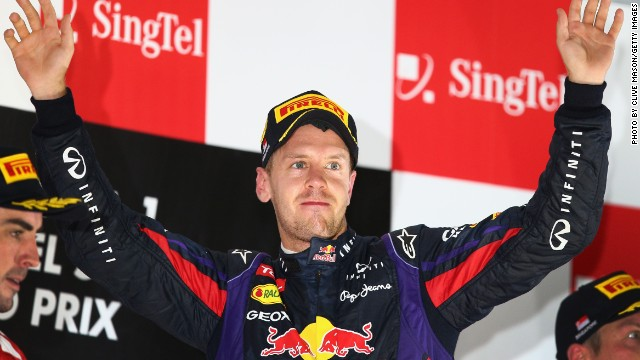 Not everyone has been so happy about Vettel's dominace. The German was booed on the podium after another dominant victory at the Singapore Grand Prix.