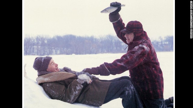 "Although the two main characters in ""Grumpy Old Men"" (played by Jack Lemmon and Walter Matthau) spend their holiday with family, they both really want to spend it with the new woman in town (Ann-Margret). On Thanksgiving night, a mutual friend of theirs arrives at the woman's door, leaving both grumpy old men jealous and bitter."