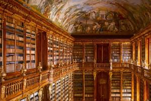 Biblioteca del Monasterio de Strahov, Praga, República Checa