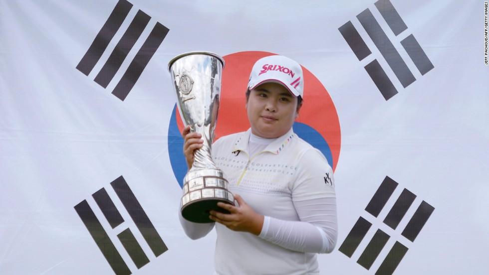 9. Golfistas femeninas