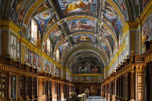 Biblioteca de El Escorial, España