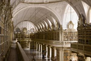 Biblioteca del Palacio Nacional de Mafra, Portugal