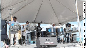 Musicians are a key feature of the Turks & Caicos Conch Festival.