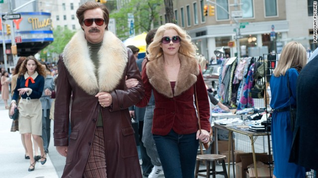 Save the date: 'Anchorman 2' bumped up