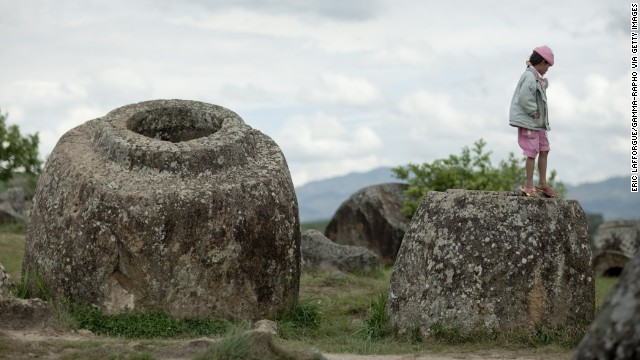 As part of this holiday trip to Laos and Cambodia, travelers will visit the Plain of Jars in Phonsavan, Laos.