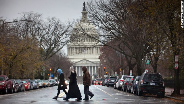 Wet, wintry weather blows into Washington on November 27.