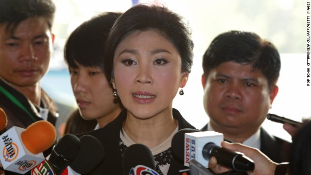Liberan de custodia a la ex primera ministra de Tailandia, dicen fuentes