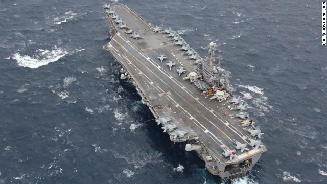 Super carrier in pictures