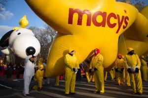 El desfile de globos de Macy's