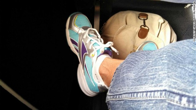 <a href='https://twitter.com/lyrehcal' target='_blank'>Cheryl Levy</a> shared these sunny sneaks en route from Dallas to Austin, Texas.