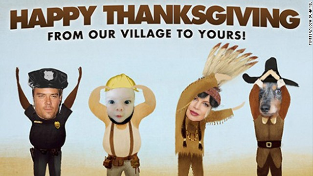 Happy Thanksgiving and Hanukkah! Love, the Internet