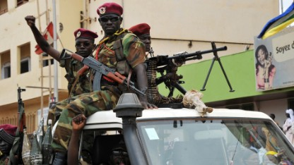 Peacekeepers heading to Central African Republic