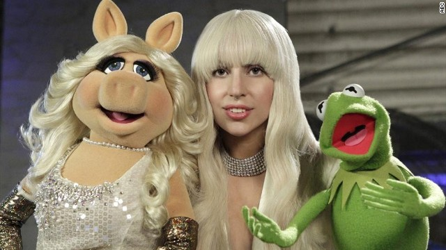 Lady Gaga with The Muppets is our new favorite thing
