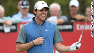 World No. 6 Rory McIlroy is all smiles after enjoying a rare good day at the Australian Open.