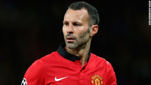 Ryan Giggs celebrates his 40th birthday on Friday. The Manchester United midfielder shows no signs of slowing down at the tail end of a playing career which is now in its third decade.