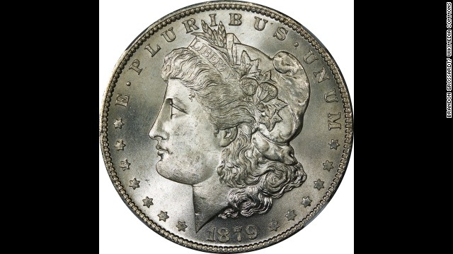 "According to the U.S. Mint. the ""Morgan"" silver dollar was produced from 1878-1904 and again from 1921 until the ""Peace"" dollar took its place."