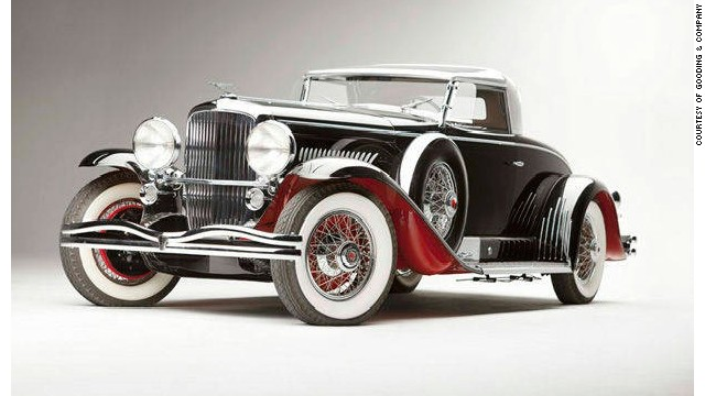 This 1931 Duesenberg Model J Long-Wheelbase Coupe reached significantly more than estimated when it sold for $10.34 million at an auction in 2011.
