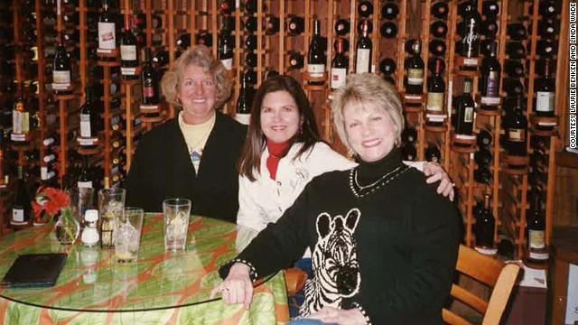 Benken, Plevyak and Wade enjoyed the wine-tasting at Wild Thyme Gourmet in Highlands in 2006.
