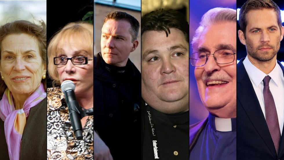 Personajes que fallecieron en 2013