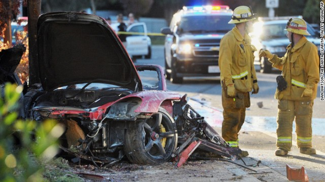 paul walker dies car accident