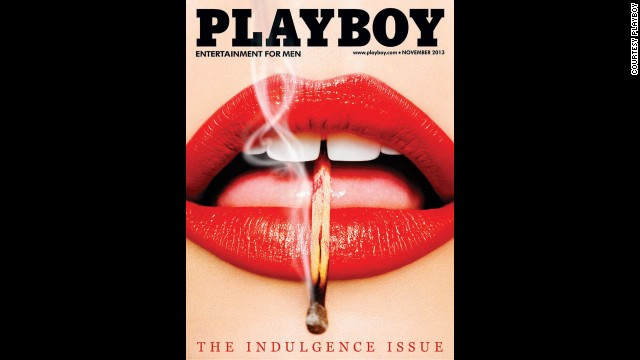 "Playboy has recently returned to running the more art-inspired concept covers that it was known for in the 1950s, '60s and '70s. This November 2013 ""Lips"" cover was recently awarded ""Cover of the Day"" by the Society of Professional Designers."