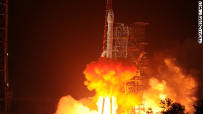China launches lunar mission