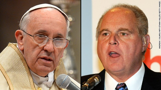 Rush Limbaugh: Pope is preaching 'pure Marxism'