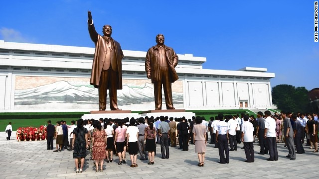 What can tourists expect during a visit to North Korea?