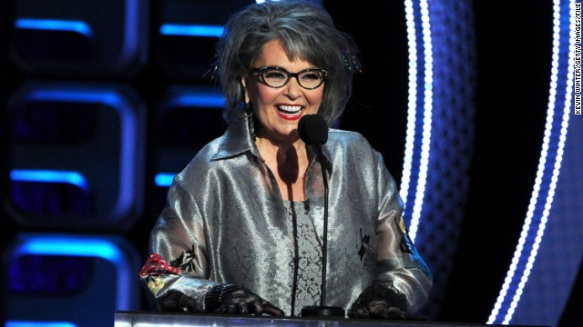 Roseanne Barr says she quits TV, maybe for 'geriatric porn'