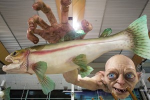 Pescando, al estilo de Gollum
