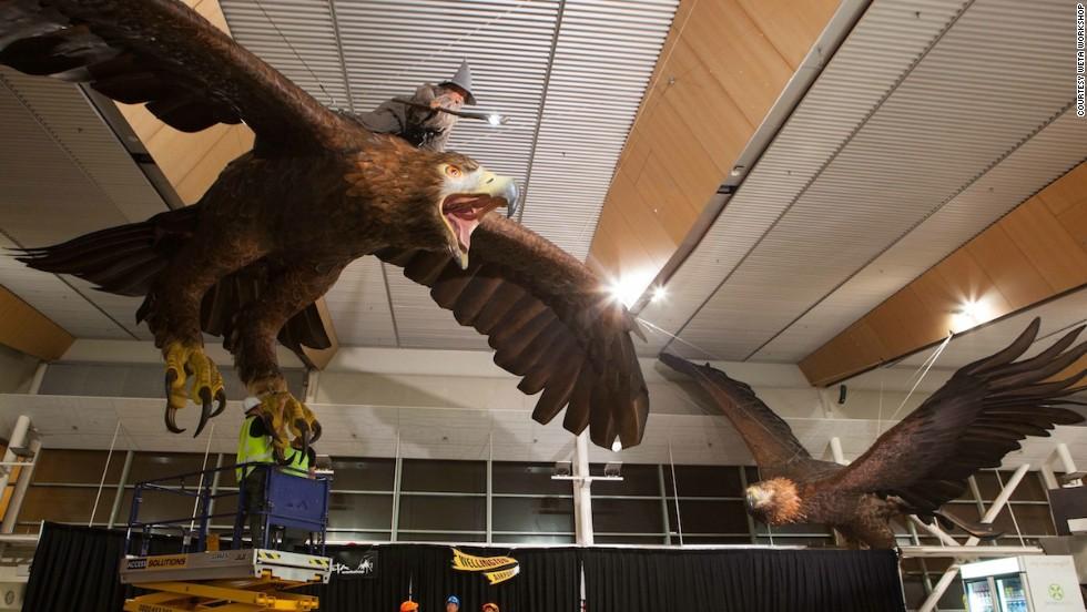 Aeropuerto de Wellington celebra 'El Hobbit'