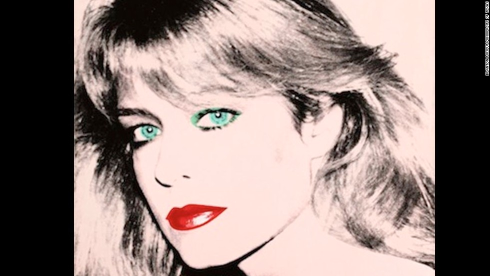 This Andy Warhol portrait of actress Farrah Fawcett is at Fawcett's alma mater, the University of Texas at Austin. Fawcett bequeathed her art collection to the university after she <a href='http://www.cnn.com/2009/SHOWBIZ/TV/06/25/obit.fawcett/'>died of cancer in 2009</a>. Click through the gallery to see photos from Fawcett's life and career.
