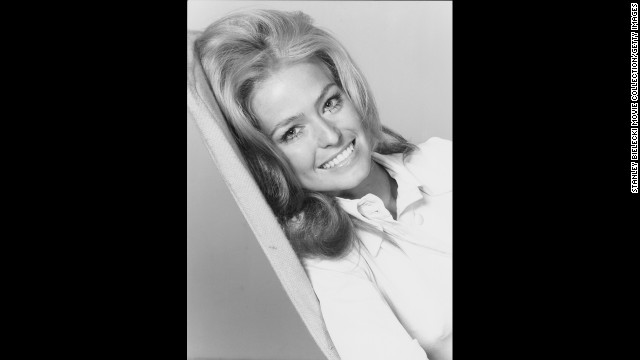 "Fawcett played Mary Ann Pringle in the 1970 movie ""Myra Breckinridge."""