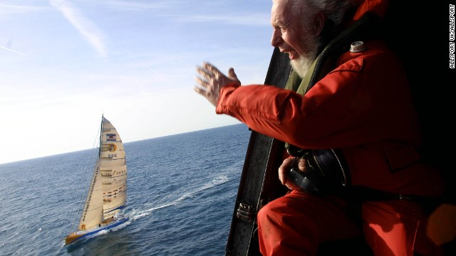 Sailors are left to spend months at sea on their own with only satellite phones and the occasional helicopter flying overhead to keep them company.