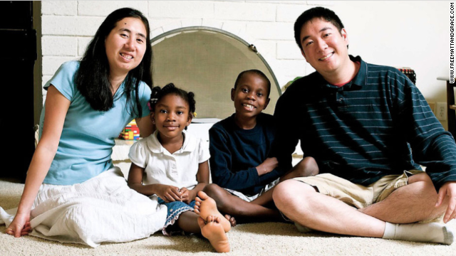 Matthew and Grace Huang deny charges of murdering Gloria, one of three children they adopted from Africa.